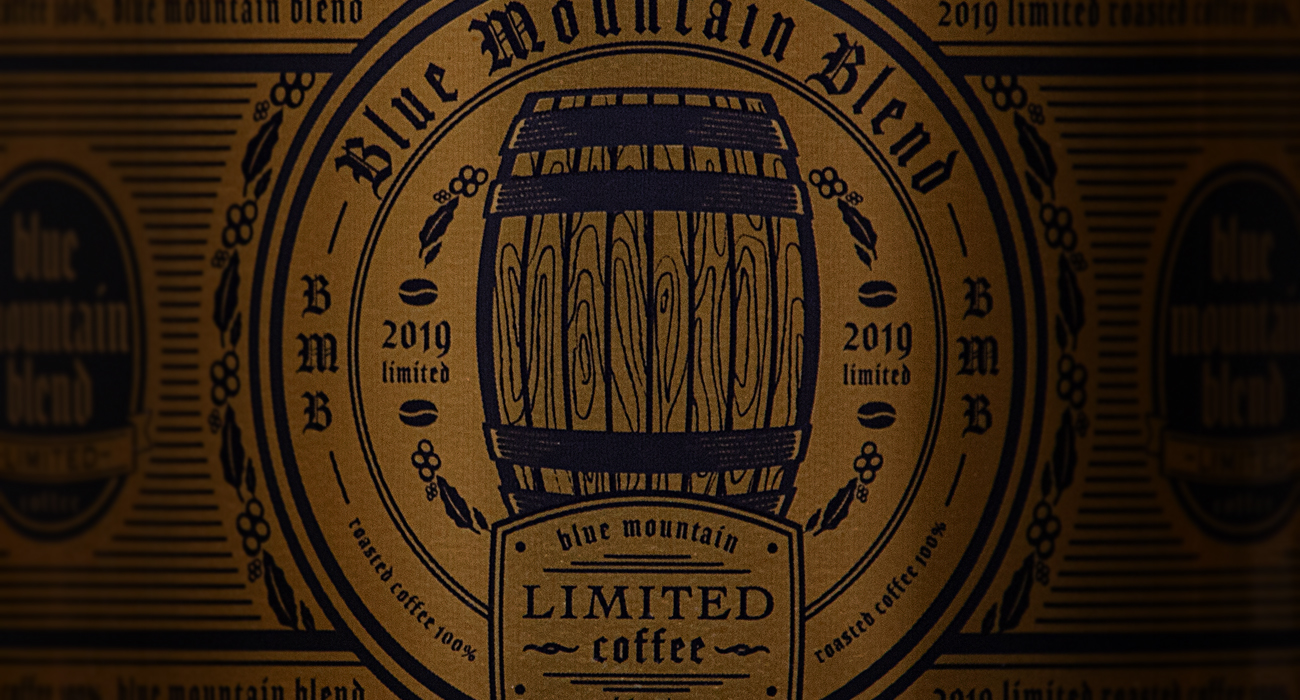 BLACK無糖 BLUE MOUNTAIN BLEND