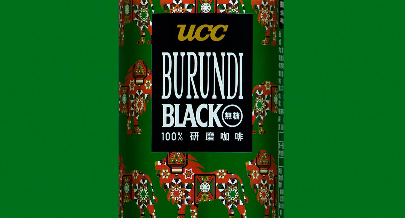UCC BURUNDI BLACK無糖