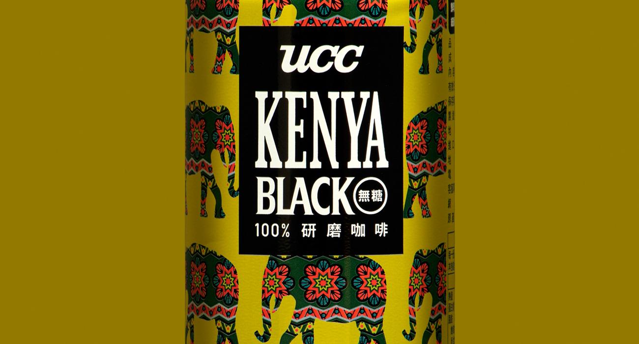 UCC KENYA BLACK無糖